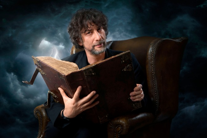 Programme Name: Good Omens - TX: n/a - Episode: n/a (No. n/a) - Picture Shows: Neil Gaiman - (C) BBC - Photographer: Pete Dadds