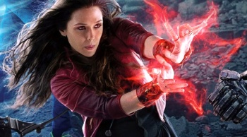 Scarlet Witch will no doubt have to push her powers to the limit during this battle to end all battles.