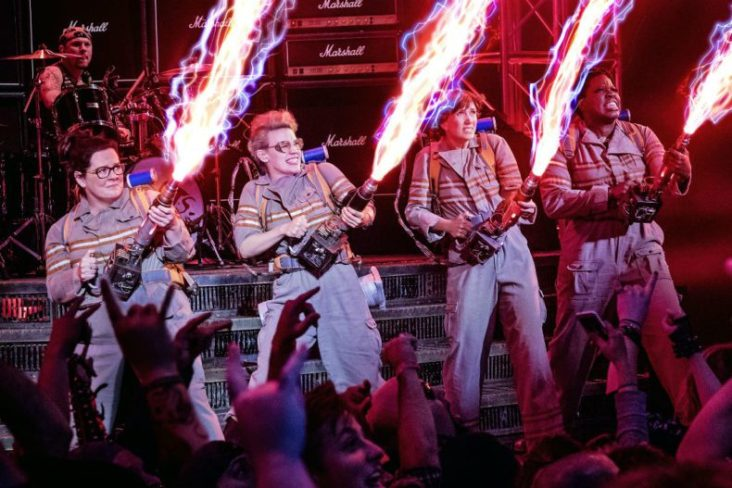 But now a new Ghostbusters movie has finally been made! With an all female line-up, the rebooted team are Abby Yates (Melissa McCarthy), Erin Gilbert (Kristen Wig), Jillian Holtzman (Kate McKinnon) and Patty Tolan (Leslie Jones). The movie comes out this July.