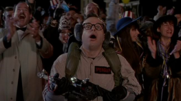 A new member joined the team in Ghostbusters II, as well. Louis Tully (Rick Moranis) finally got to don a Ghostbusters suit for the film's finale.