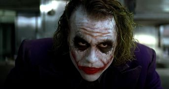 And... here... we... go. The late, lamented Heath Ledger of course played the Clown Prince of Crime in 2008's The Dark Knight. He remains the only actor to win an Oscar for a role in a superhero film.