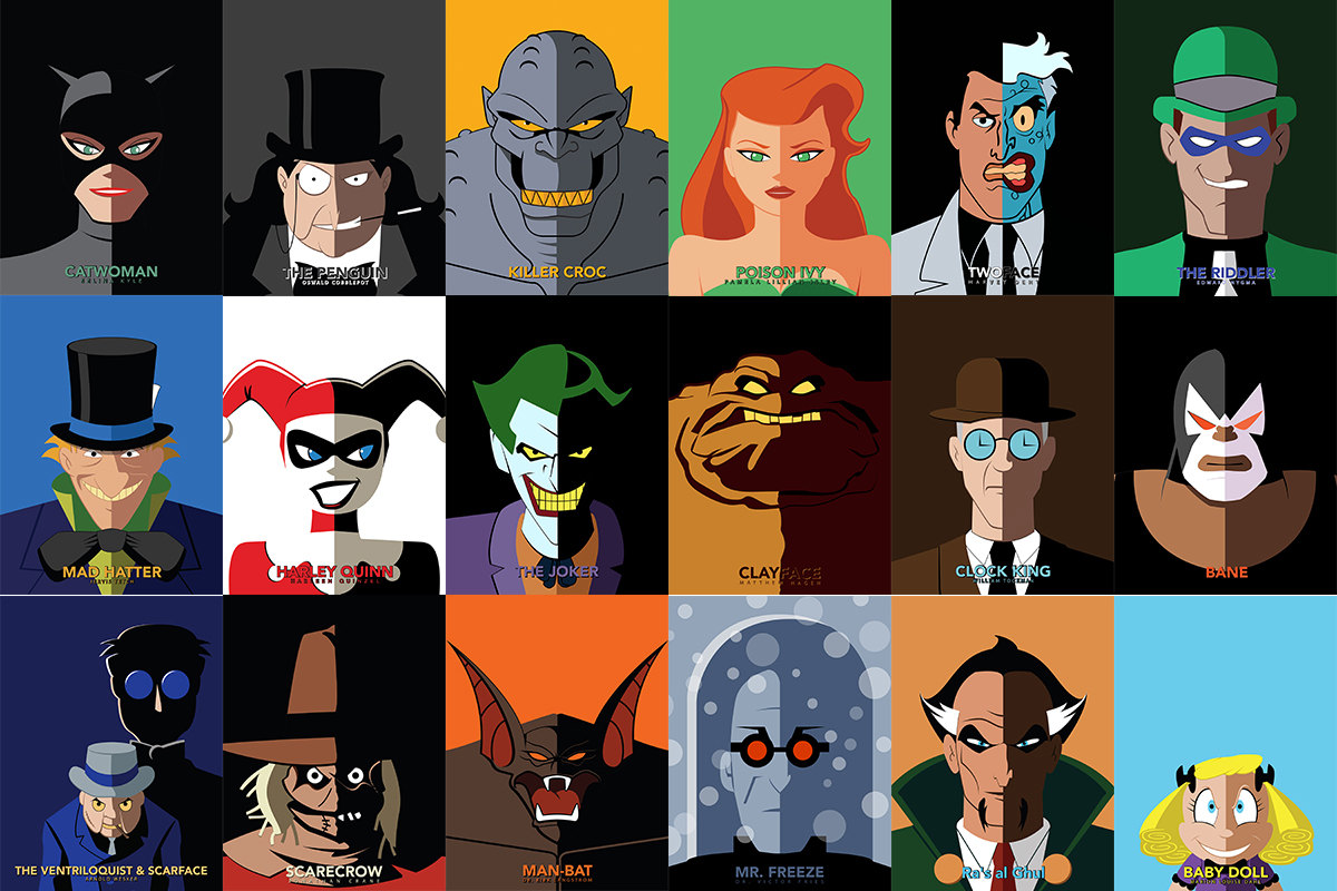 The best batman the animated series villains