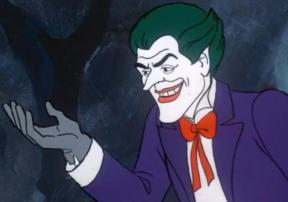 At a similar time, voice actors Larry Storch and Lennie Weinrib shared Joker duties on various Batman cartoons. Storch also played the part in an episode of Scooby Doo where Batman and the Mystery Inc gang team up to stop the Joker and Penguin. Ruh-roh!