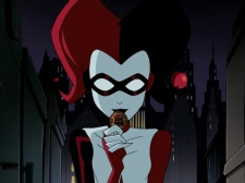 Though The Batman TV show usually significantly revamped classic characters, this version of Harley was very close to the original BTAS version. She was voiced by Hyden Walch.