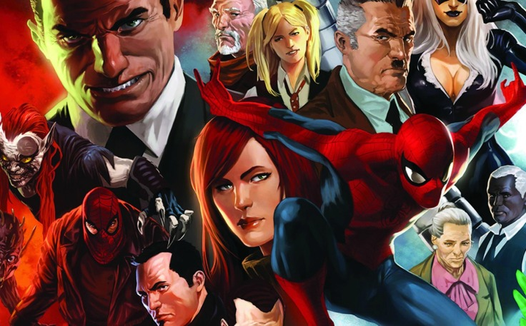 Spider-man-and-supporting-cast