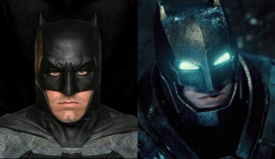 Batman v Superman: Dawn of Justice + Suicide Squad (2016) - Zack Snyder's Bats and Supes mash-up borrowed heavily from The Dark Knight Returns graphic novel. As such, Ben Affleck wore two suits that were perfect replications of costumes from that comic. A) the grey, bulky normal suit and B) the mecha-suit that gives him extra protection in his battle with the Man of Steel.