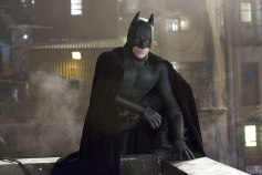 Batman Begins (2005) - Christopher Nolan took the character in a new gritty direction and so had a more practical suit, said to be a military prototype in the film. Like Keaton before him, though, Bale struggled with moving his head in the rigid rubber cowl.