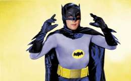 Batman (1966) - The 1960s Batman TV series, and its spin-off movie, defined what the hero looked like in popular culture for decades. Though its far from the style we are now accustomed to today, the grey/blue colour scheme and the drawn-on eyebrows perfectly fit the campy tone of the series. KAPOW!