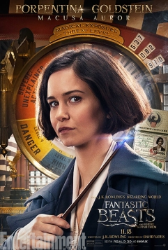 GALLERY: Fantastic Beasts and Where to Find Them - *EXCLUSIVE* Character Posters - Katherine Waterston as Porpentina Goldstein