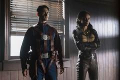 Nate Heywood AKA Commander Steel and Amaya Jiwe, also known as Vixen
