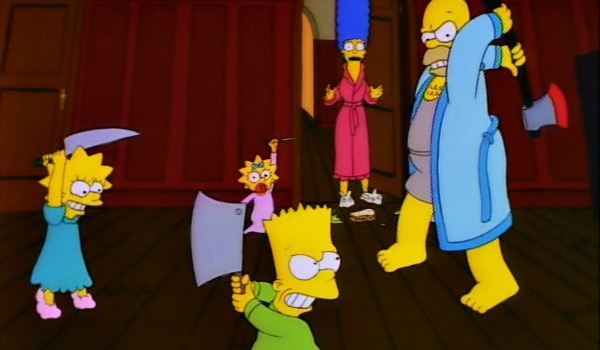 simpsons-season-2-3-tree-house-of-horrors-first-appearance-bad-dream-house-knives-bart-lisa-homer-marge-review-episode-guide-lis
