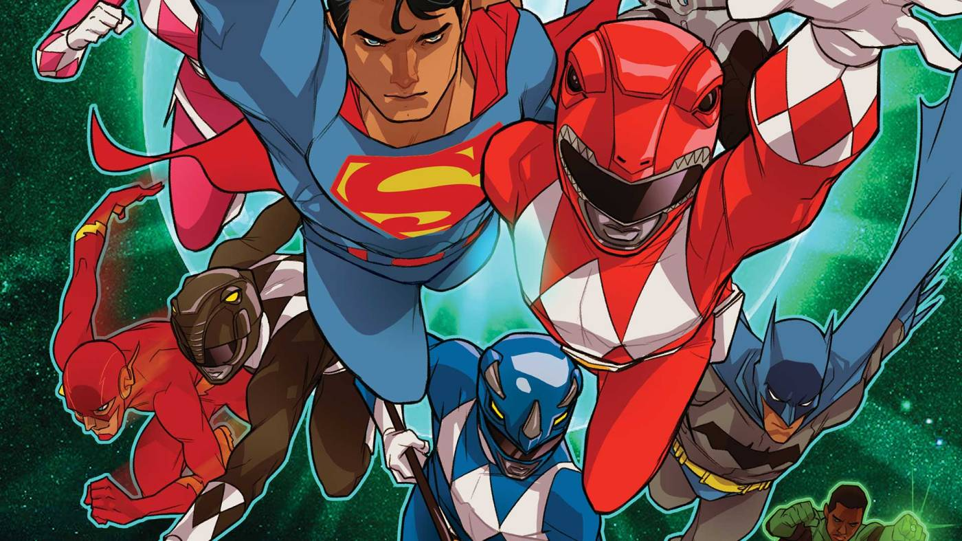 Comic Book Review Justice League Power Rangers 2 Fandom Factory