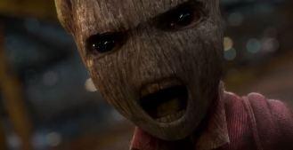 ... itty bitty Groot...