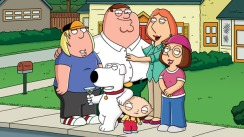 Family Guy is as about as far away from Disney as it gets but, hey ho, Peter Griffin can now meet Mickey Mouse.