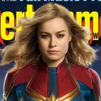Captain Marvel Promo Images Reveal First Look At Heroine's Classic Costume